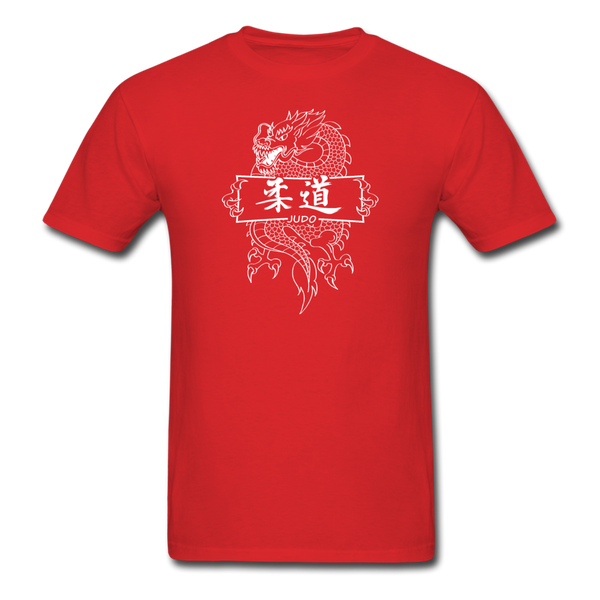Dragon Judo T-Shirt - red