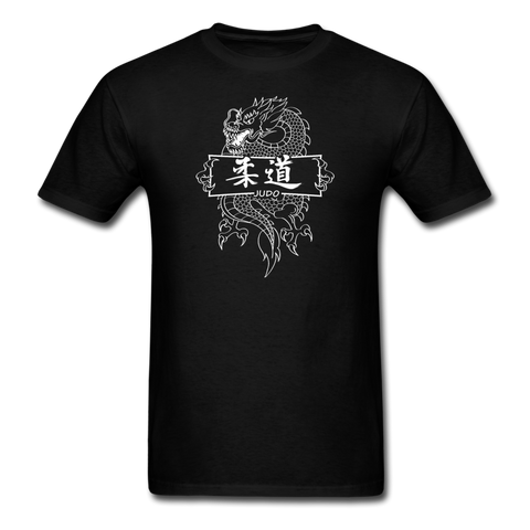 Dragon Judo T-Shirt - black