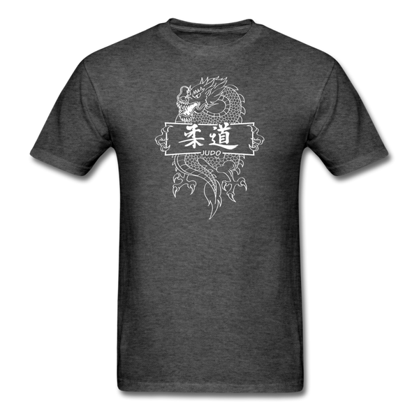 Dragon Judo T-Shirt - heather black