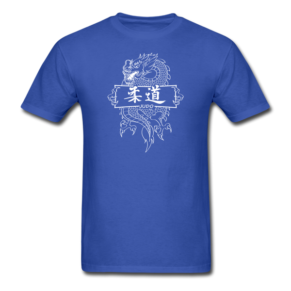 Dragon Judo T-Shirt - royal blue