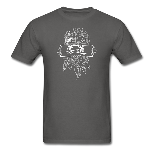 Dragon Judo T-Shirt - charcoal
