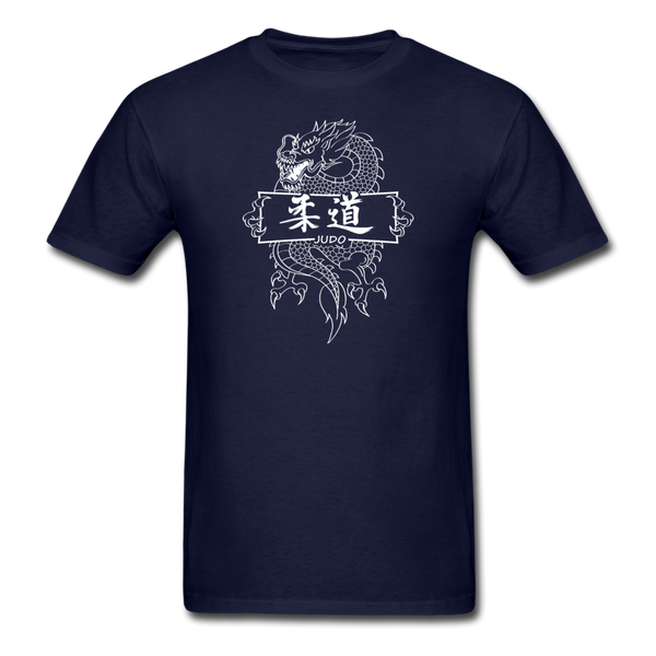 Dragon Judo T-Shirt - navy