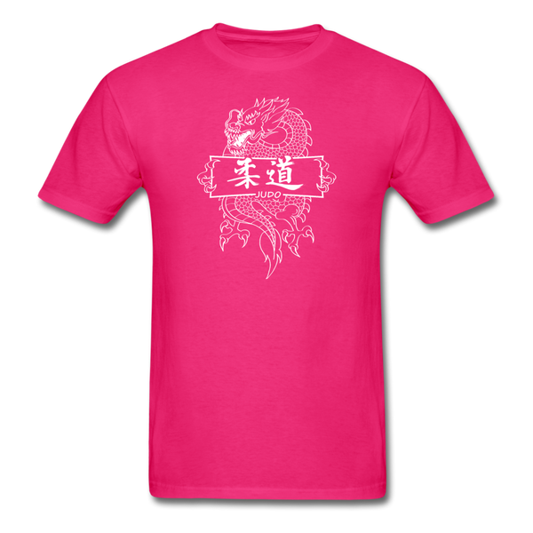 Dragon Judo T-Shirt - fuchsia