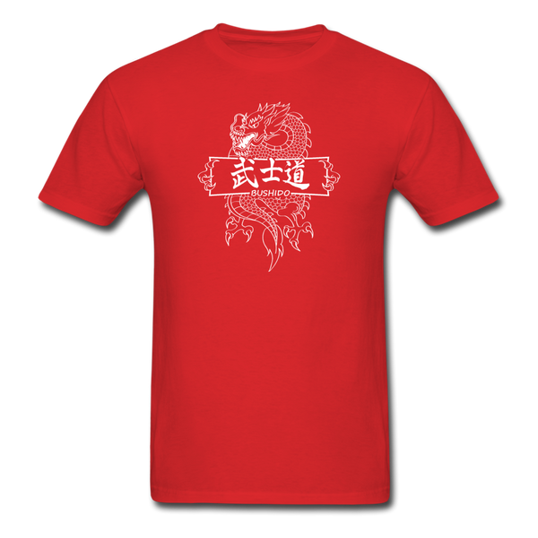 Dragon Bushido T-Shirt - red