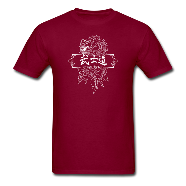 Dragon Bushido T-Shirt - burgundy