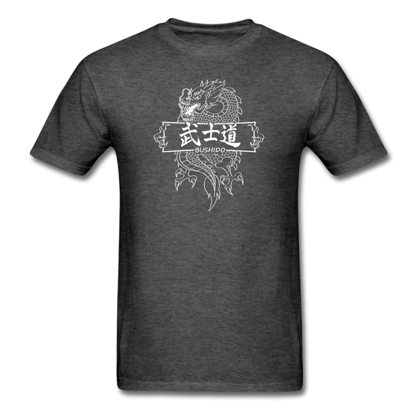 Dragon Bushido T-Shirt - heather black