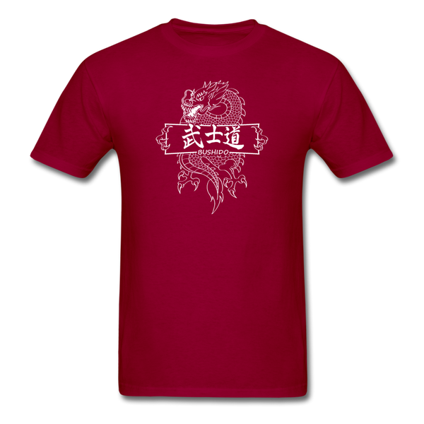Dragon Bushido T-Shirt - dark red