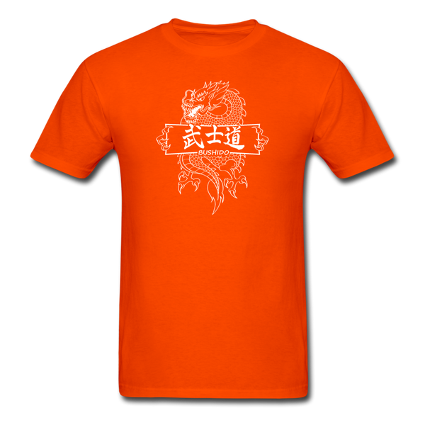 Dragon Bushido T-Shirt - orange