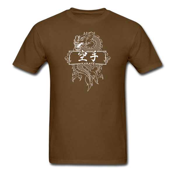 Dragon Karate T-Shirt - brown
