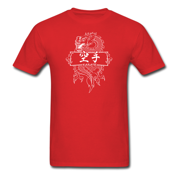 Dragon Karate T-Shirt - red