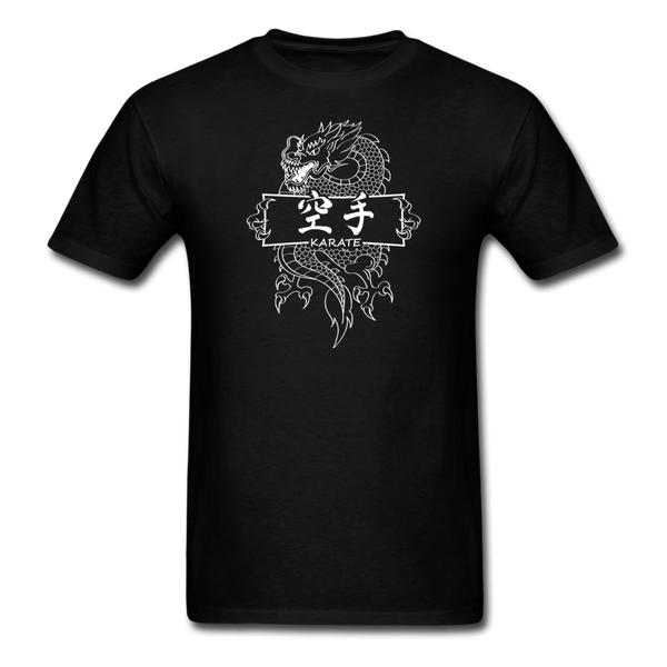 Dragon Karate T-Shirt - black