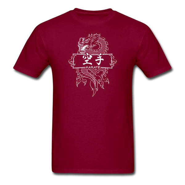 Dragon Karate T-Shirt - burgundy