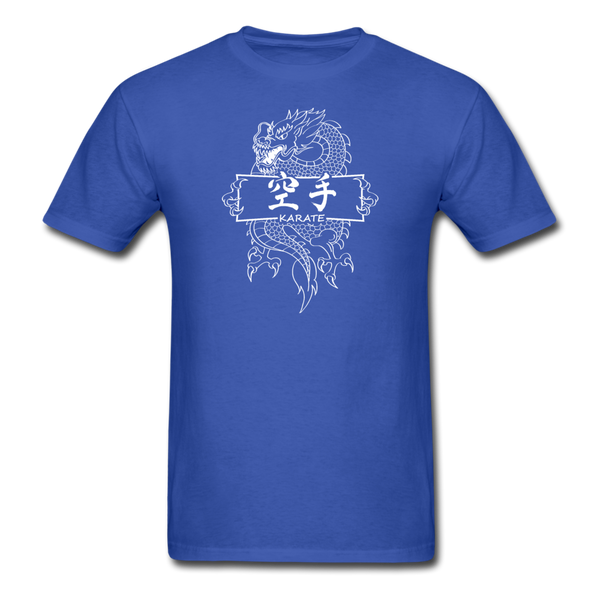 Dragon Karate T-Shirt - royal blue