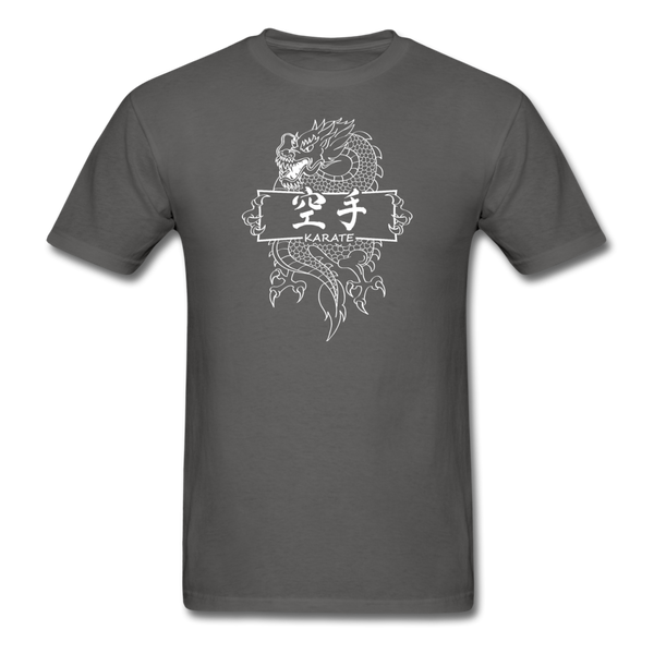 Dragon Karate T-Shirt - charcoal
