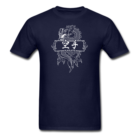 Dragon Karate T-Shirt - navy