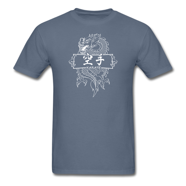 Dragon Karate T-Shirt - denim