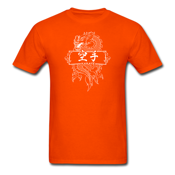 Dragon Karate T-Shirt - orange