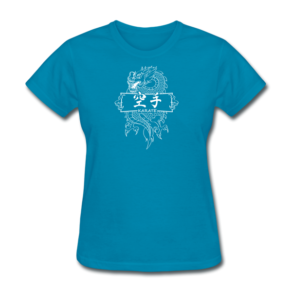 Dragon Karate T-Shirt - turquoise