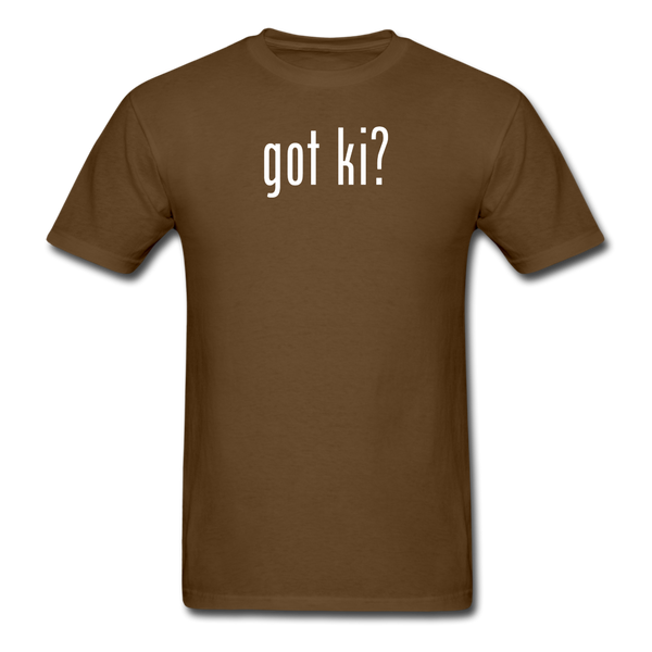 Got Ki? T-Shirt - brown