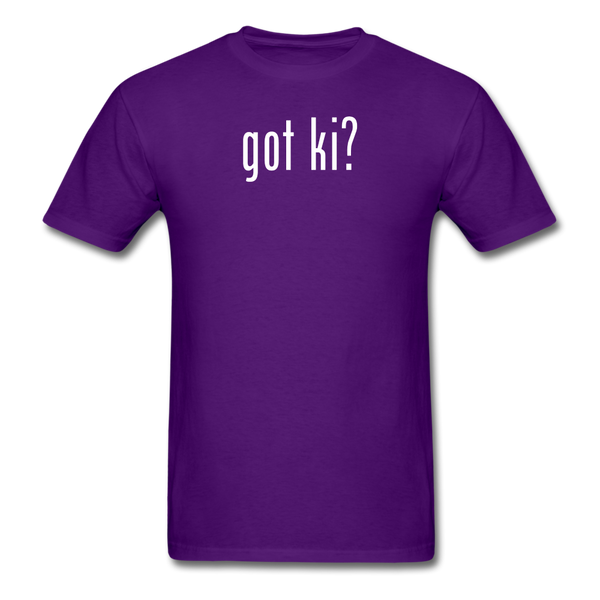 Got Ki? T-Shirt - purple