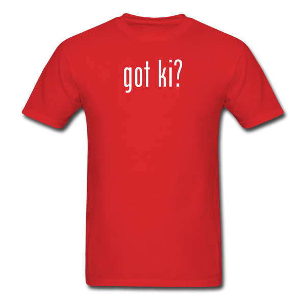 Got Ki? T-Shirt - red
