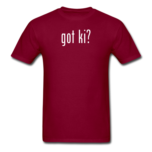 Got Ki? T-Shirt - burgundy