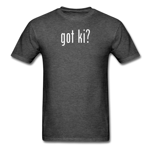 Got Ki? T-Shirt - heather black