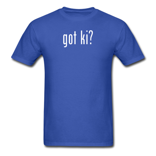 Got Ki? T-Shirt - royal blue