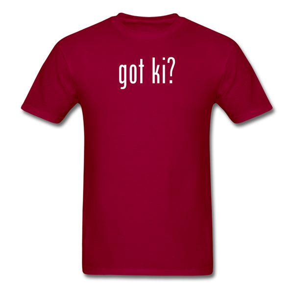 Got Ki? T-Shirt - dark red