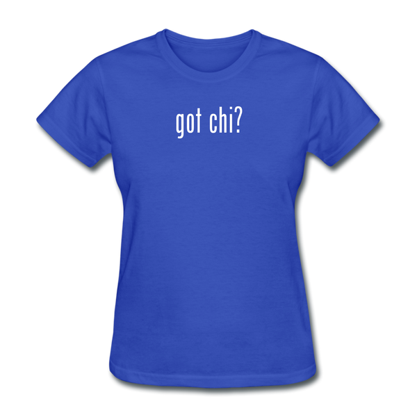 Got Chi? T-Shirt - royal blue