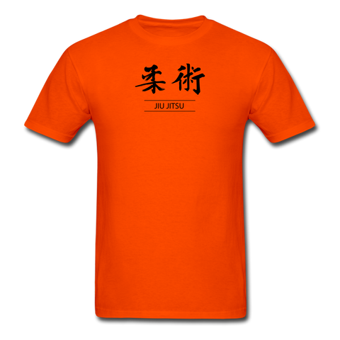 Jiu-Jitsu Kanji T-Shirt - orange