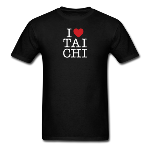 I Love Tai Chi T-Shirt - black