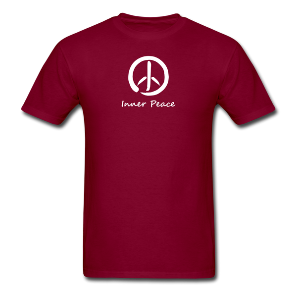 Inner Peace T-Shirt - burgundy