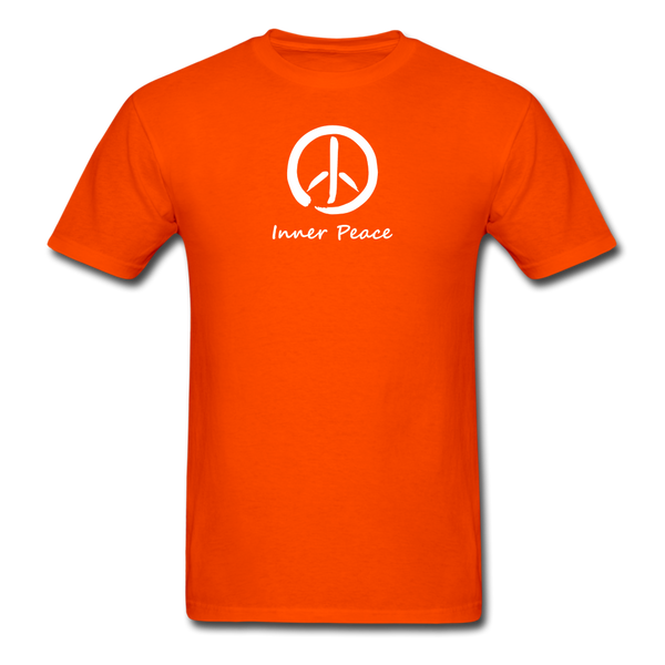 Inner Peace T-Shirt - orange
