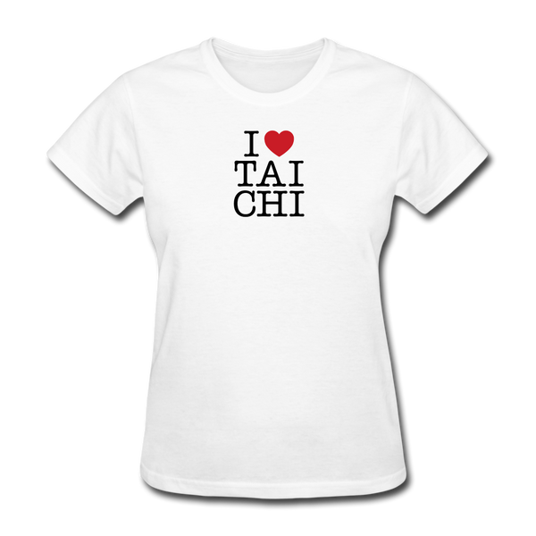 I Love Tai Chi T-Shirt - white