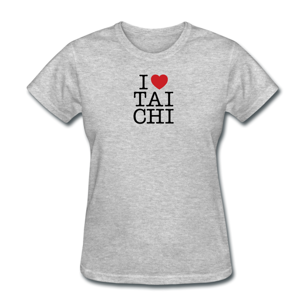 I Love Tai Chi T-Shirt - heather gray