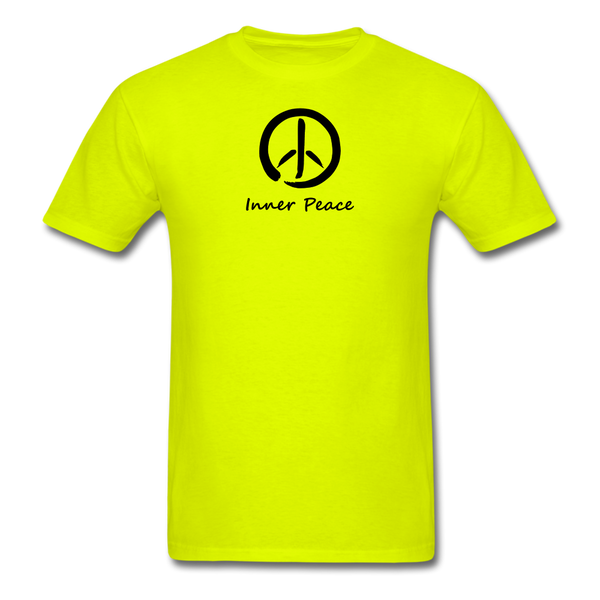 Inner Peace T-Shirt - safety green
