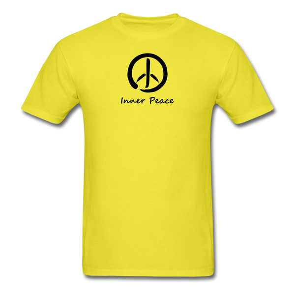 Inner Peace T-Shirt - yellow