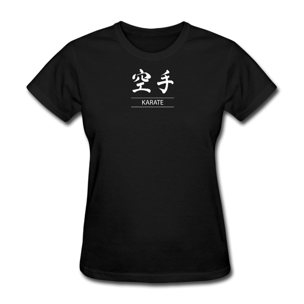 Karate Kanji T-Shirt - black