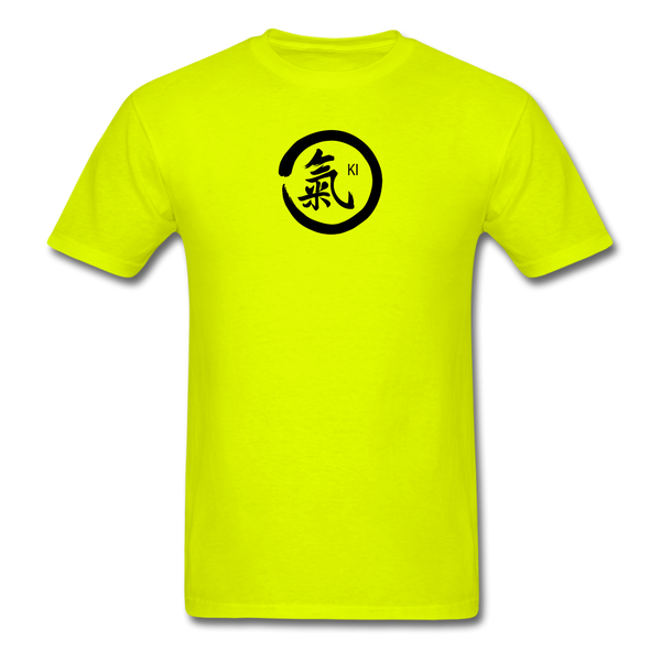 Ki Kanji T-Shirt - safety green
