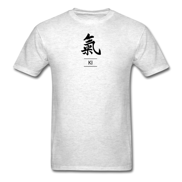 Ki Kanji T-Shirt - light heather gray