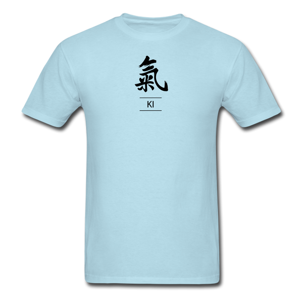 Ki Kanji T-Shirt - powder blue