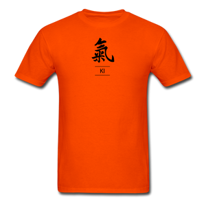 Ki Kanji T-Shirt - orange