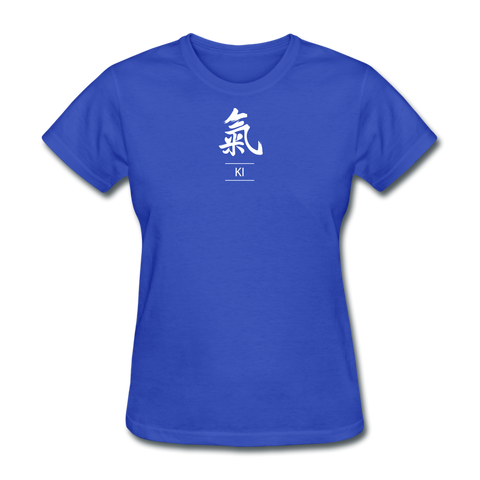 Ki Kanji T-Shirt - royal blue