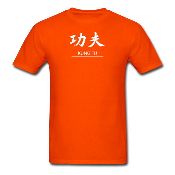 Kung Fu Kanji T-Shirt - orange