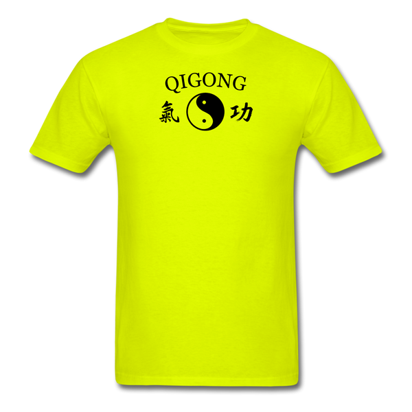 Qigong Kanji T-Shirt - safety green