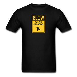Tai Chi Crossing T-Shirt - black