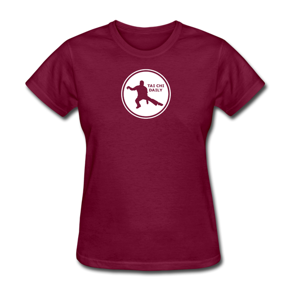 Tai Chi Daily T-Shirt - burgundy