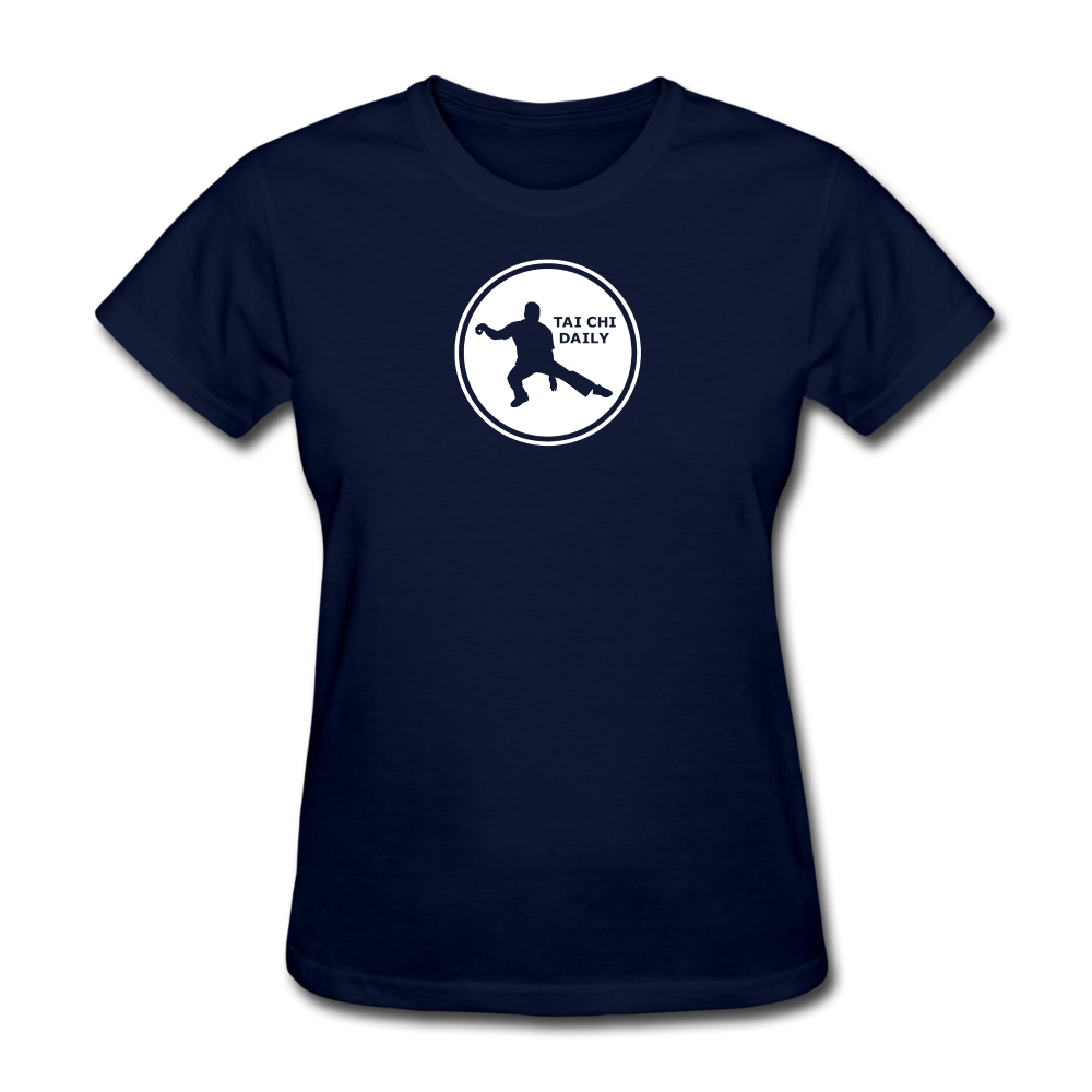 Tai Chi Daily T-Shirt - navy