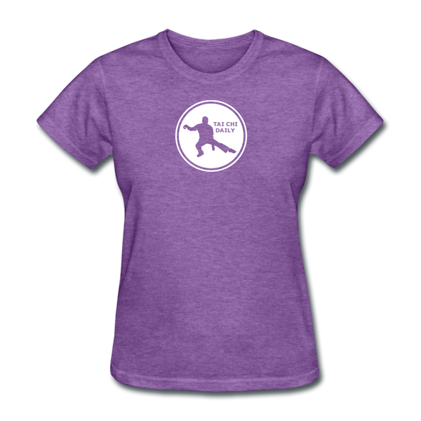 Tai Chi Daily T-Shirt - purple heather